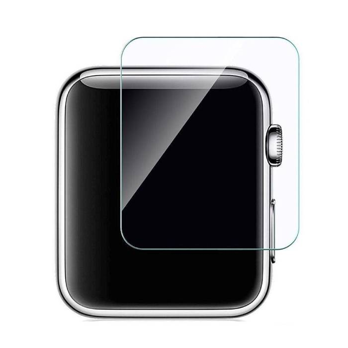 Stuff Certified® 42mm Tempered Glass Clear Screen Protector voor iWatch Series 1 / 2 / 3