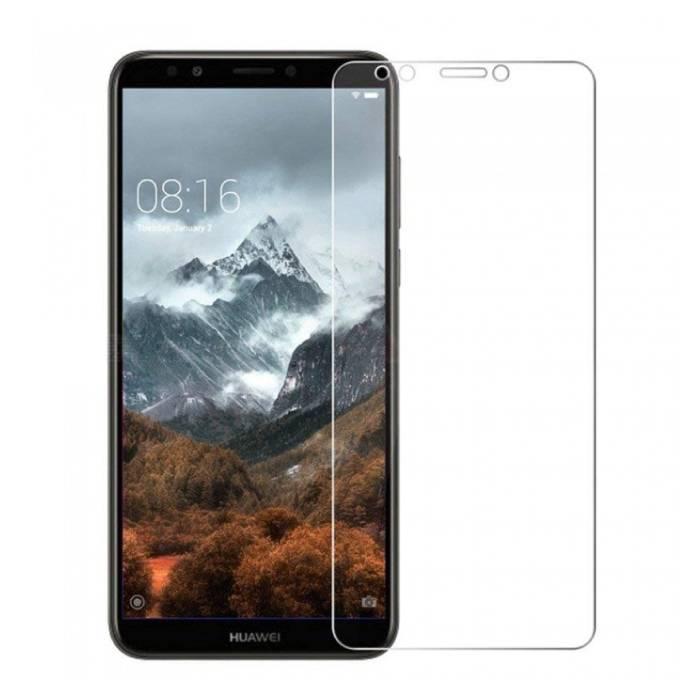 Lunettes en verre trempé de film de verre trempé de protecteur d'écran Huawei Y7 2018