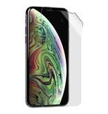 Stuff Certified® 10er Pack Displayschutzfolie iPhone X Starke Folienfolie PET-Folie