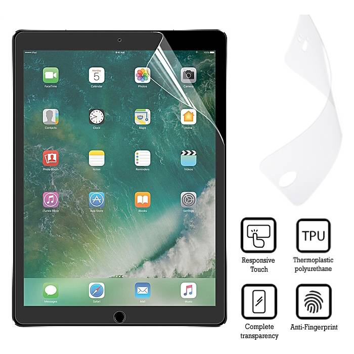"5-Pack Screen Protector iPad Pro 10.5"" Soft TPU Foil Folie PET Film"
