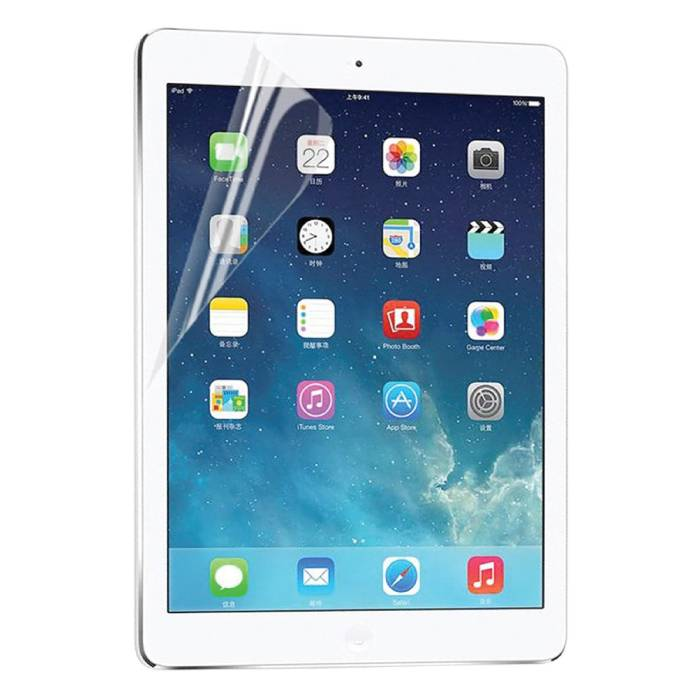 "5-Pack Screen Protector iPad Air 1/2 & iPad Pro 9.7"" Soft TPU Foil Folie PET Film"