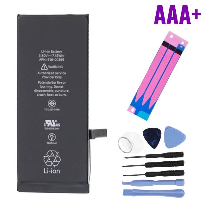 iPhone 7 Batterij Reparatieset (+ Gereedschap & Adhesive Sticker) - AAA+ Kwaliteit