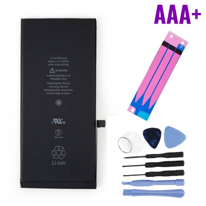 iPhone 7 Plus Batterij Reparatieset (+ Gereedschap & Adhesive Sticker) - AAA+ Kwaliteit