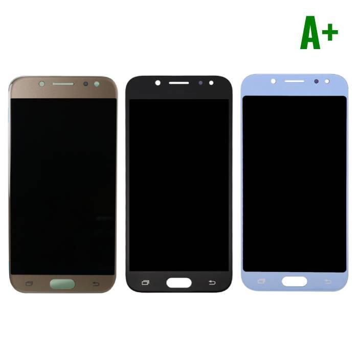 Samsung Galaxy J5 J530 2017 Scherm (Touchscreen + LCD + Onderdelen) A+ Kwaliteit - Zwart/Lichtblauw/Goud