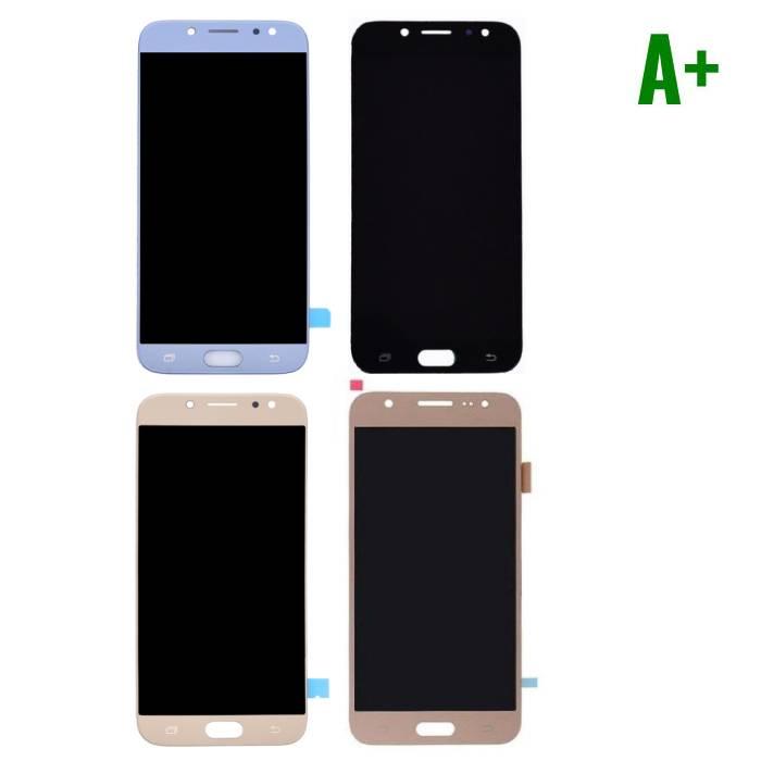 Samsung Galaxy J7 J730 2017 Scherm (Touchscreen + LCD + Onderdelen) A+ Kwaliteit - Zwart/Lichtblauw/Goud/Rose Gold
