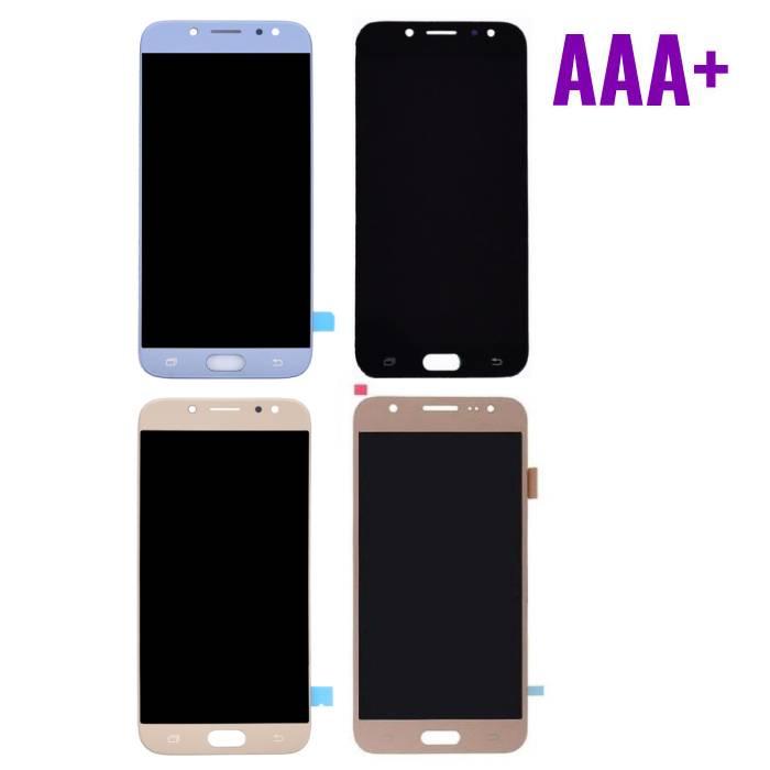 Écran Samsung Galaxy J7 J730 2017 (Écran tactile + LCD + Pièces) AAA + Qualité - Noir / Bleu Clair / Or / Or Rose
