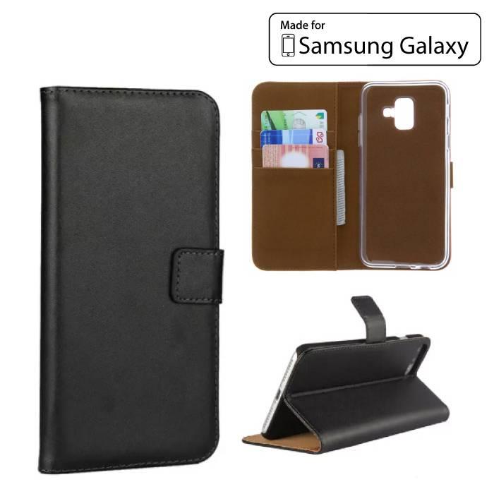 Bord Samsung Galaxy S7 - étui portefeuille COUVERTURE Cas Wallet Case Black