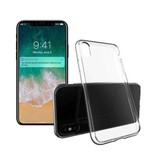 Stuff Certified® iPhone X transparent TPU + écran protecteur en verre trempé