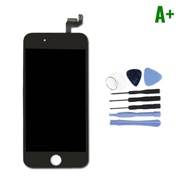 """Ecran iPhone 6S 4.7 """"(Ecran Tactile + LCD + Pièces) A + Qualité - Noir + Outils"""