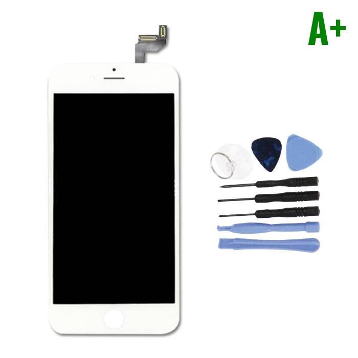 """Écran iPhone 6S 4.7 """"(Écran tactile + LCD + Pièces) A + Qualité - Blanc + Outils"""