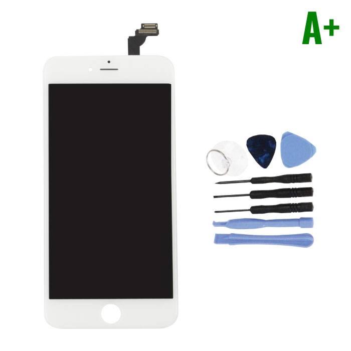 Écran iPhone 6 Plus (Écran tactile + LCD + Pièces) A + Qualité - Blanc + Outils