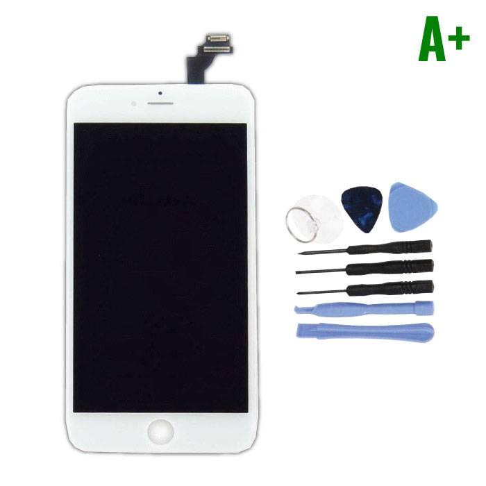 iPhone 6S Plus Scherm (Touchscreen + LCD + Onderdelen) A+ Kwaliteit - Wit + Gereedschap