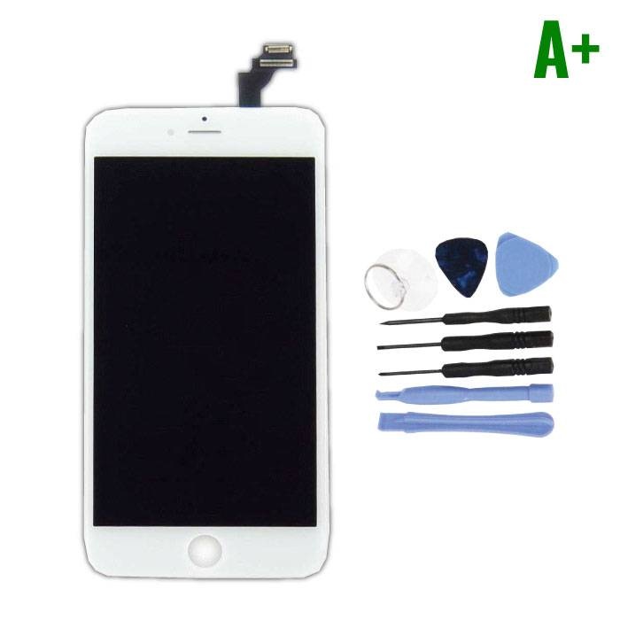 iPhone 6S Plus Screen (Touchscreen + LCD + Parts) A + Quality - White + Tools