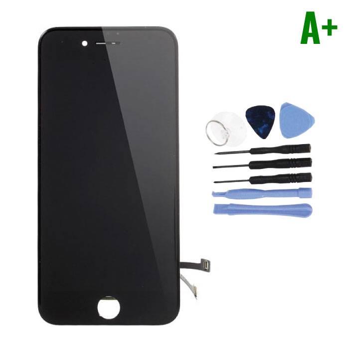 cran iPhone 7 (cran tactile + LCD + PiŠces) A + Qualit' - Noir + Outils