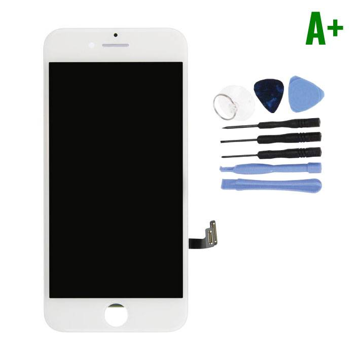iPhone 7 Screen (Touchscreen + LCD + Parts) A + Quality - White + Tools