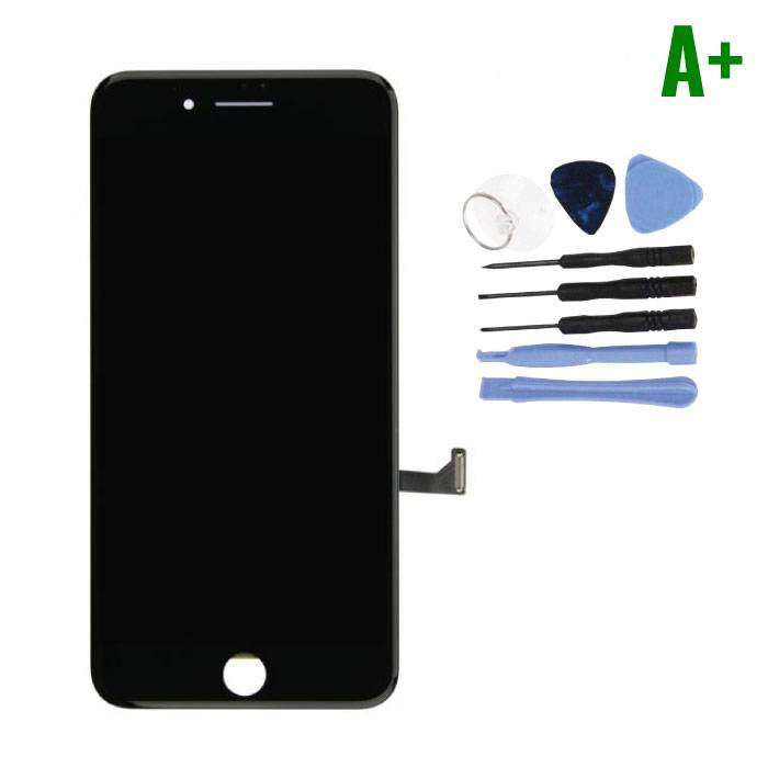 iPhone 7 Plus Screen (Touchscreen + LCD + Parts) A + Quality - Black + Tools