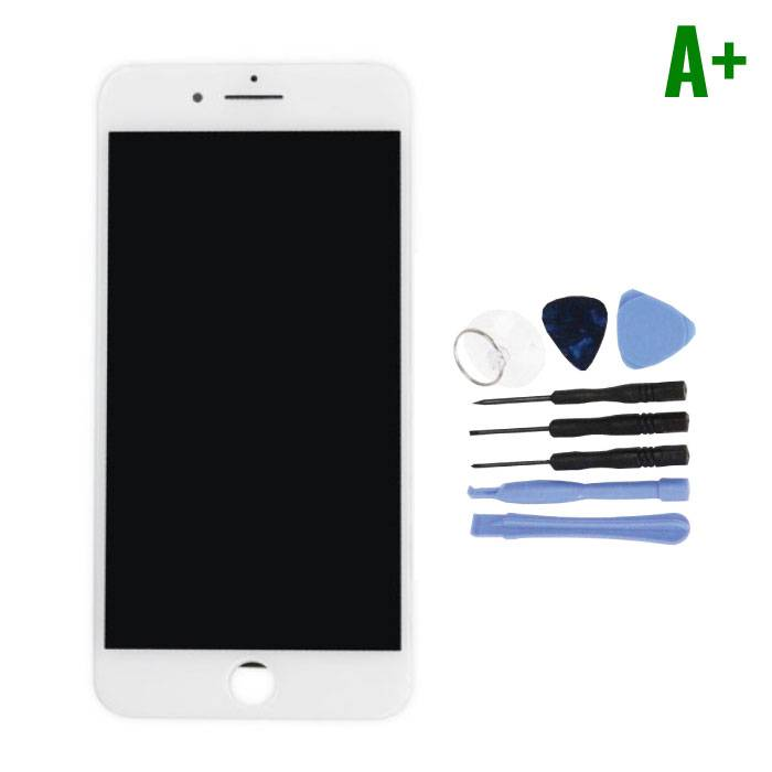 iPhone 7 Plus Screen (Touchscreen + LCD + Parts) A + Quality - White + Tools