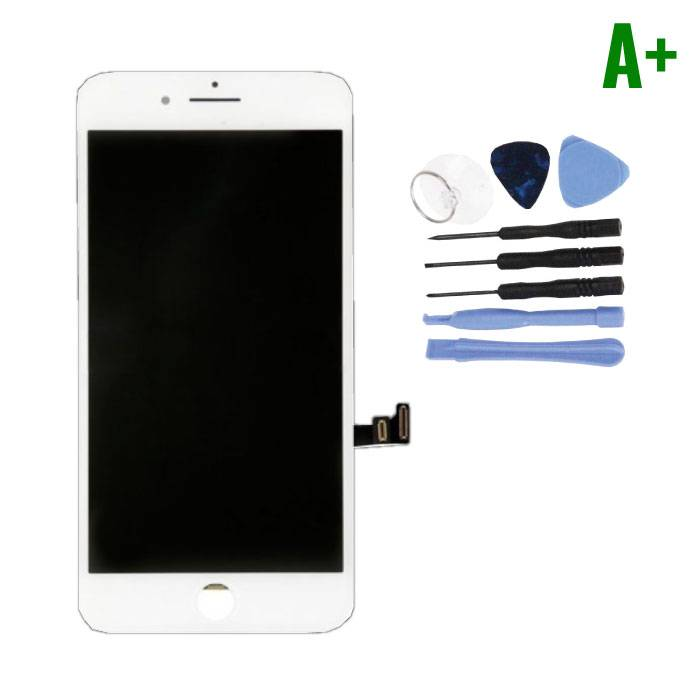 iPhone 8 Screen (Touchscreen + LCD + Parts) A + Quality - White + Tools