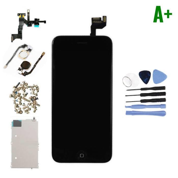 """Ecran pré-assemblé pour iPhone 6S 4.7 """"(Écran tactile + LCD + Pièces) A + Qualité - Noir + Outils"""