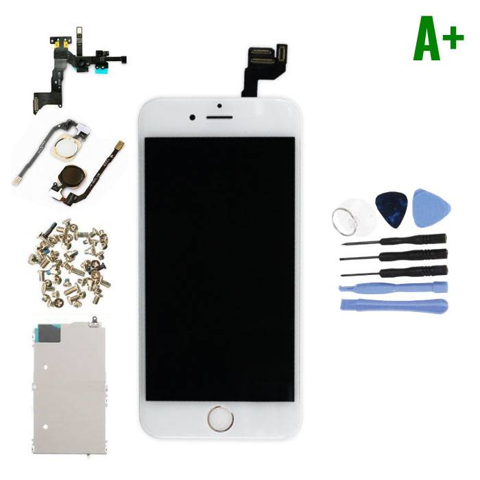 "iPhone 6S 4.7 ""Pre-assembled Screen (Touchscreen + LCD + Parts) A + Quality - White + Tools"