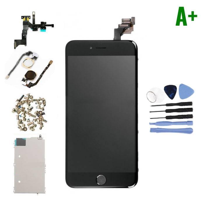 Écran pré-assemblé pour iPhone 6 Plus (Écran tactile + LCD + Pièces) A + Qualité - Noir + Outils
