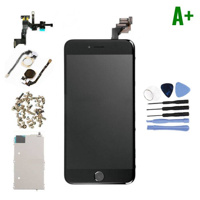 iPhone 6S Plus Pre-assembled Screen (Touchscreen + LCD + Parts) A + Quality - Black + Tools