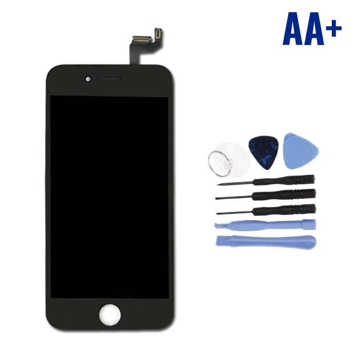 """iPhone 6S 4.7"""" Scherm (Touchscreen + LCD + Onderdelen) AA+ Kwaliteit - Zwart + Gereedschap"""
