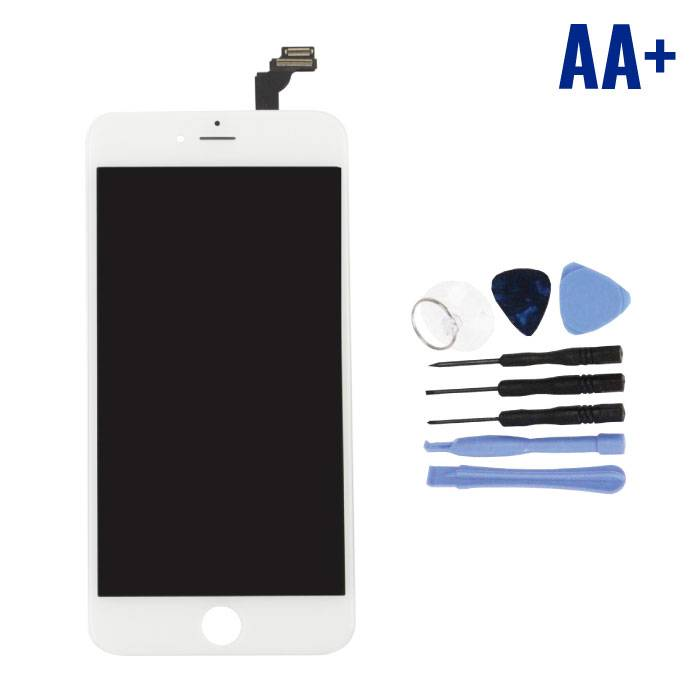 Écran iPhone 6 Plus (Écran tactile + LCD + Pièces) AA + Qualité - Blanc + Outils