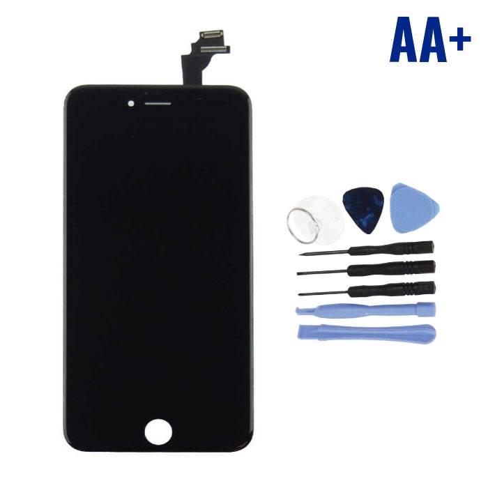 iPhone 6 Plus Scherm (Touchscreen + LCD + Onderdelen) AA+ Kwaliteit - Zwart + Gereedschap
