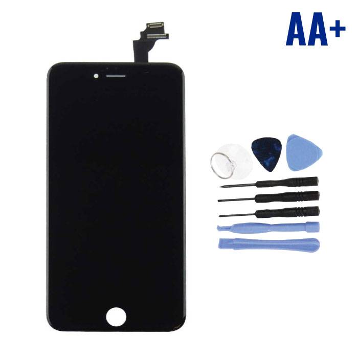 iPhone 6 Plus Screen (Touchscreen + LCD + Parts) AA + Quality - Black + Tools