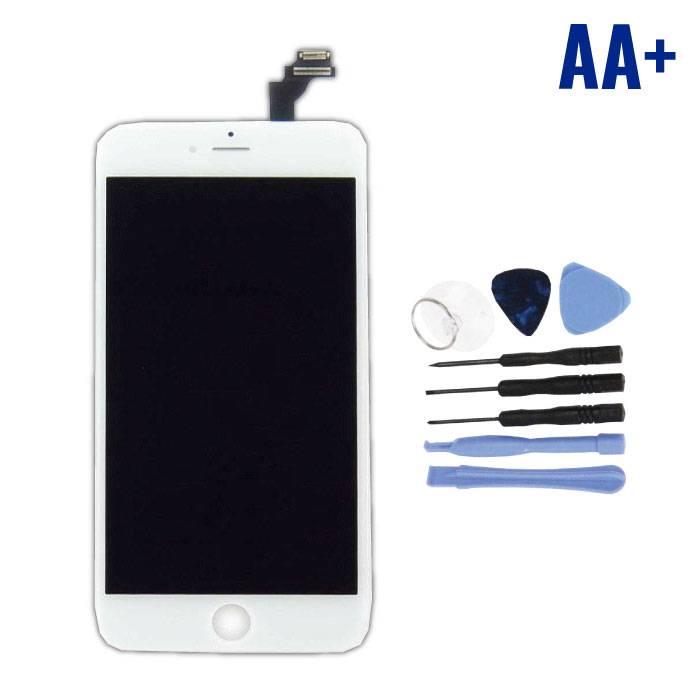 iPhone 6S Plus Scherm (Touchscreen + LCD + Onderdelen) AA+ Kwaliteit - Wit + Gereedschap