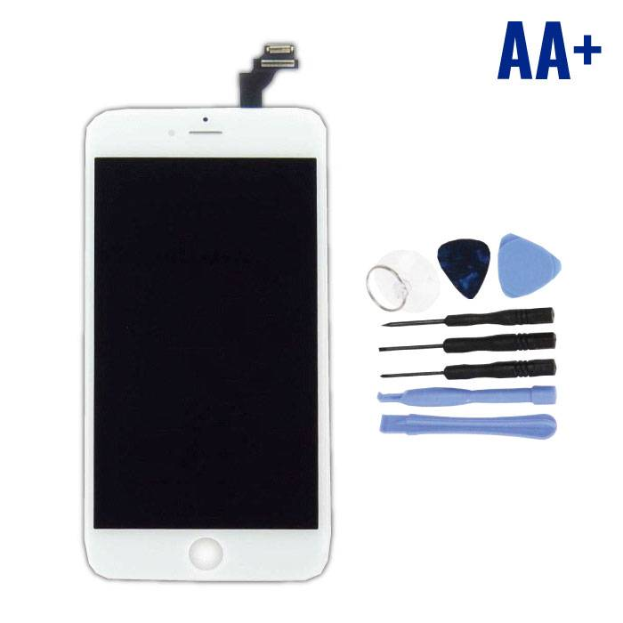 iPhone 6S Plus Screen (Touchscreen + LCD + Parts) AA + Quality - White + Tools