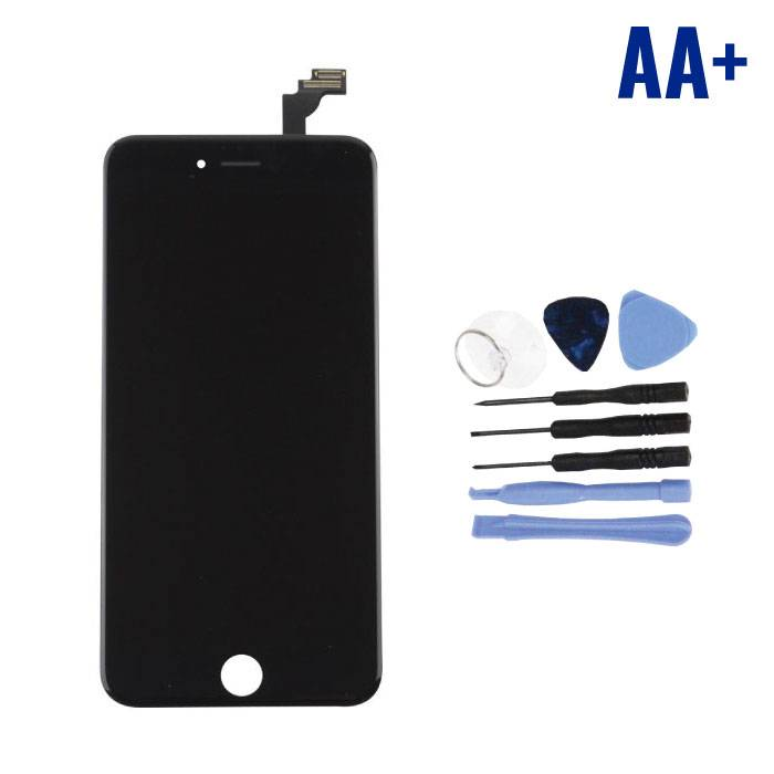 iPhone 6S Plus Screen (Touchscreen + LCD + Parts) AA + Quality - Black + Tools