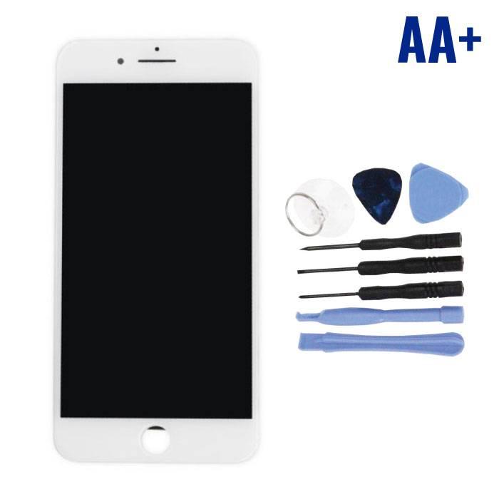 Écran iPhone 7 Plus (Écran tactile + LCD + Pièces) AA + Qualité - Blanc + Outils