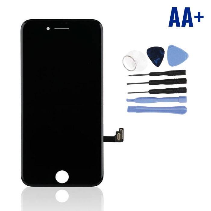 iPhone 8 Scherm (Touchscreen + LCD + Onderdelen) AA+ Kwaliteit - Zwart + Gereedschap