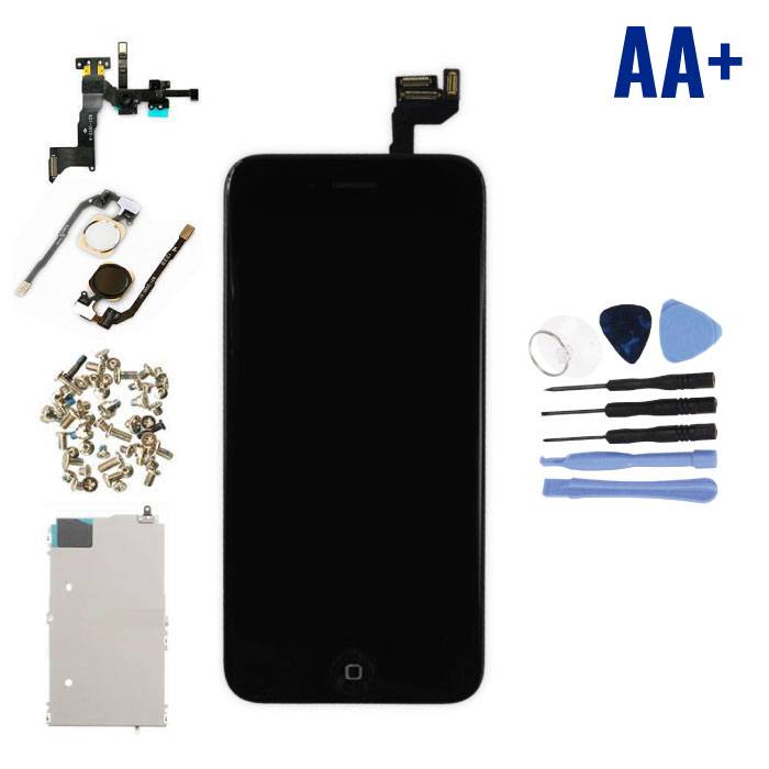 "iPhone 6S 4.7 ""Pre-assembled Screen (Touchscreen + LCD + Parts) AA + Quality - Black + Tools"