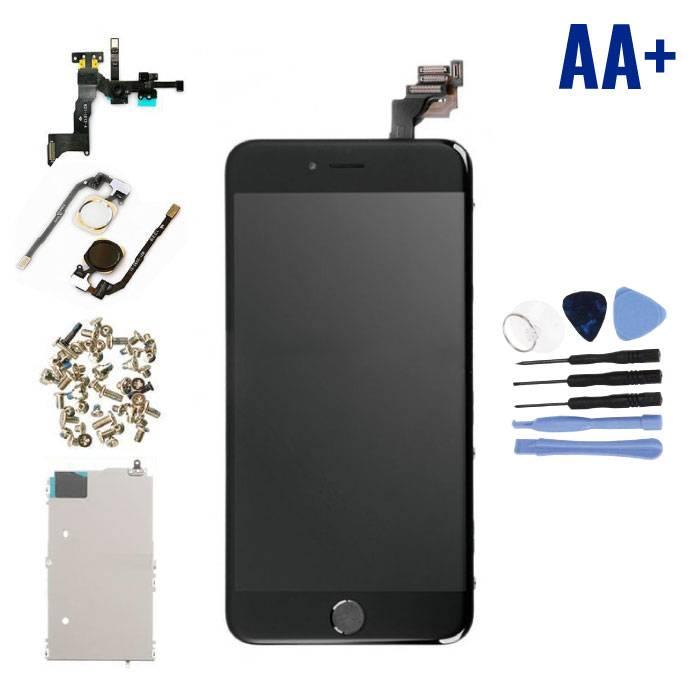 Écran pré-assemblé pour iPhone 6 Plus (Écran tactile + LCD + Pièces) AA + Qualité - Noir + Outils