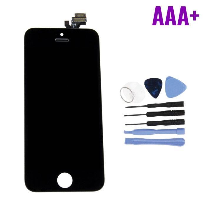 iPhone 5 Scherm (Touchscreen + LCD + Onderdelen) AAA+ Kwaliteit - Zwart + Gereedschap