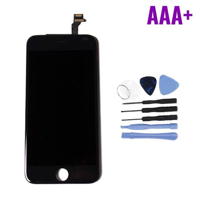 """iPhone 6 4.7 """"Screen (Touchscreen + LCD + Parts) AAA + Quality - Black + Tools"""