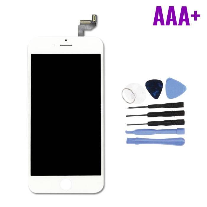 """iPhone 6S 4.7"""" Scherm (Touchscreen + LCD + Onderdelen) AAA+ Kwaliteit - Wit + Gereedschap"""