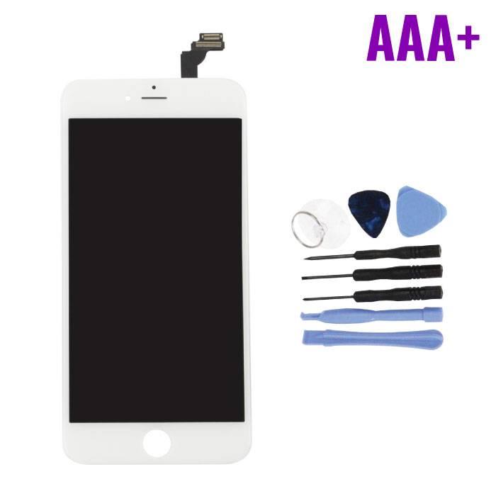 Écran iPhone 6 Plus (Écran tactile + LCD + Pièces) AAA + Qualité - Blanc + Outils