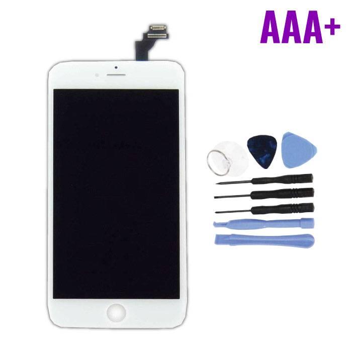 iPhone 6S Plus Scherm (Touchscreen + LCD + Onderdelen) AAA+ Kwaliteit - Wit + Gereedschap