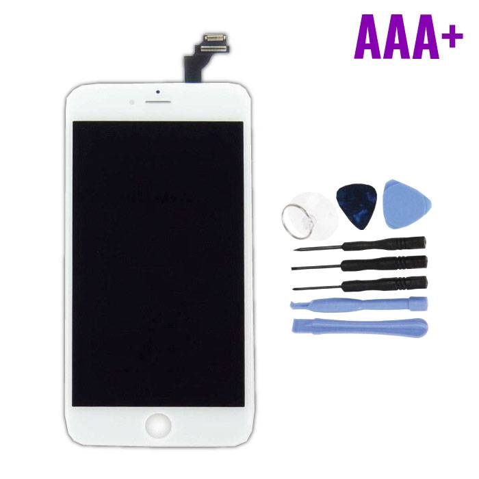 iPhone 6S Plus Screen (Touchscreen + LCD + Parts) AAA + Quality - White + Tools