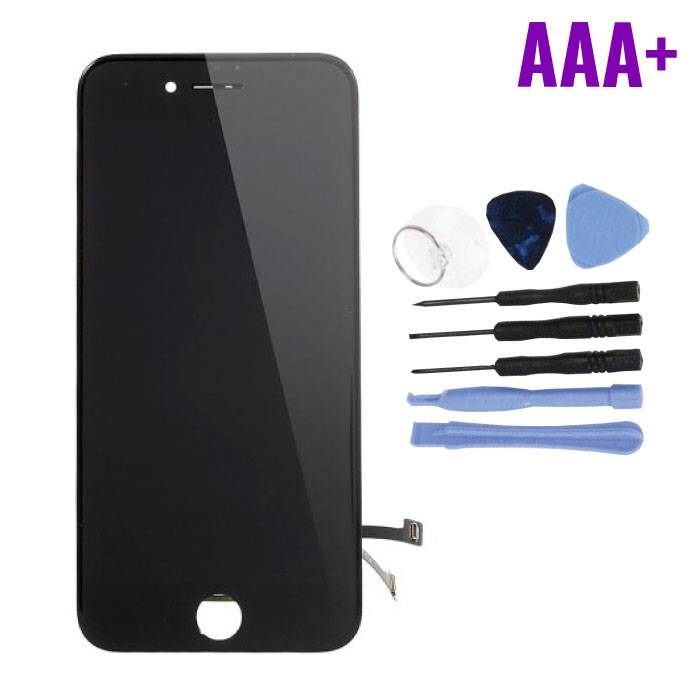 iPhone 7 Screen (Touchscreen + LCD + Parts) AAA + Quality - Black + Tools