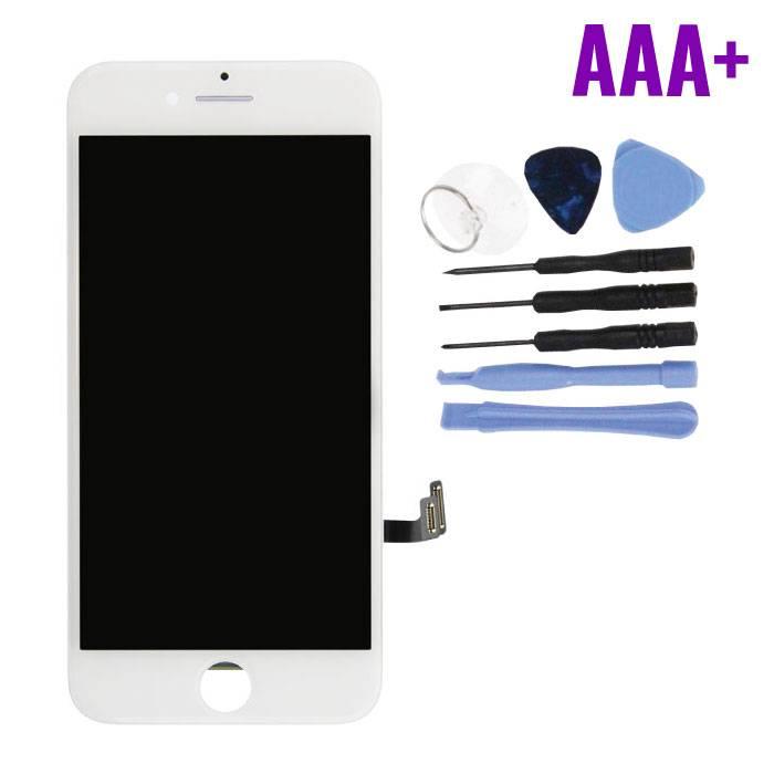 cran iPhone 7 (cran tactile + LCD + PiŠces) AAA + Qualit' - Blanc + Outils