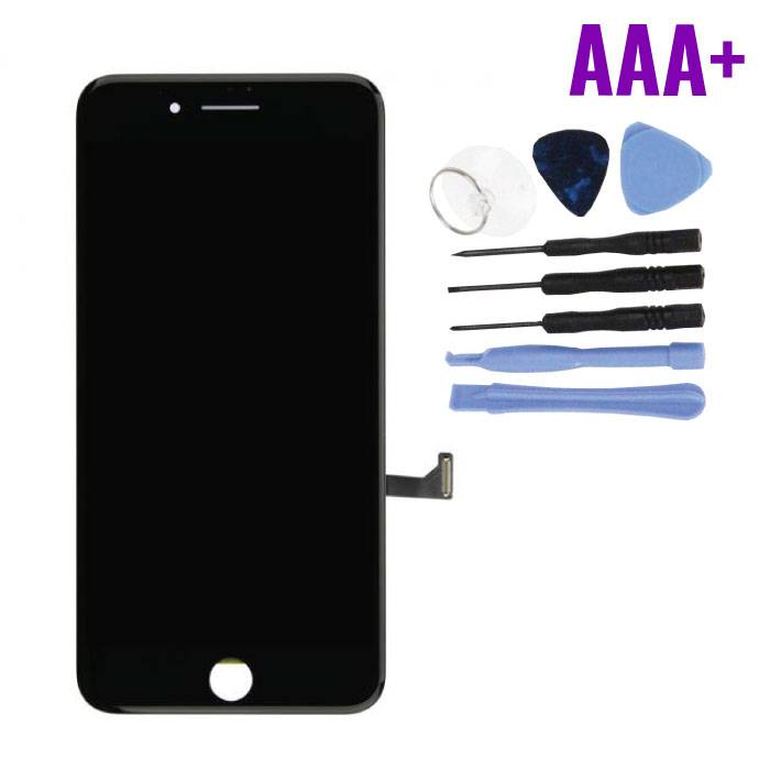 iPhone 7 Plus Screen (Touchscreen + LCD + Parts) AAA + Quality - Black + Tools