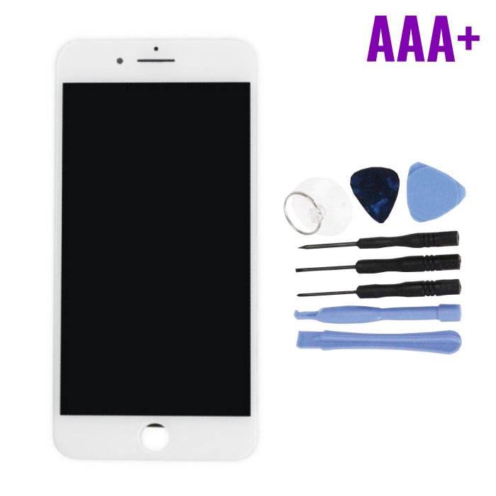 Écran iPhone 7 Plus (Écran tactile + LCD + Pièces) AAA + Qualité - Blanc + Outils
