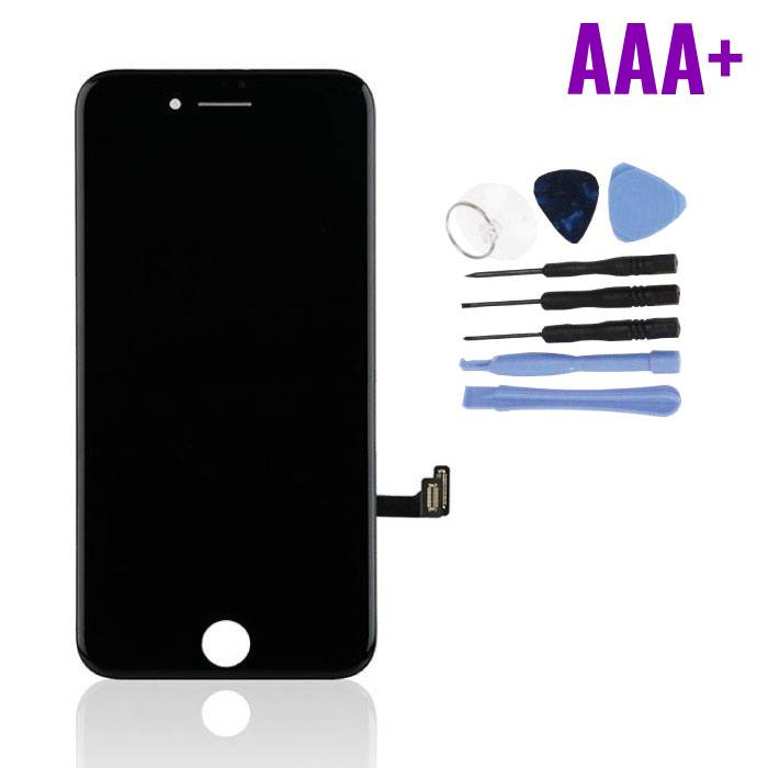 iPhone 8 Scherm (Touchscreen + LCD + Onderdelen) AAA+ Kwaliteit - Zwart + Gereedschap