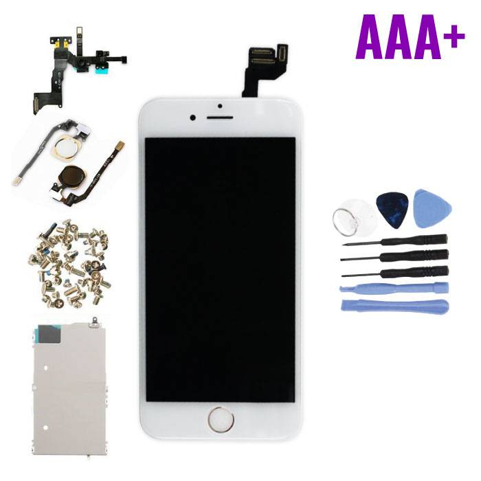 "iPhone 6S 4.7 ""Pre-assembled Screen (Touchscreen + LCD + Parts) AAA + Quality - White + Tools"