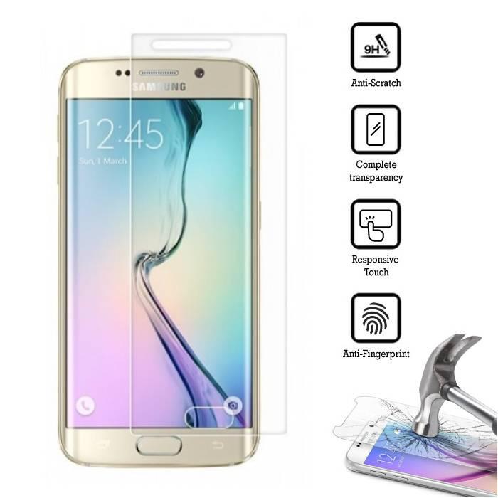 Film de protection en verre trempé pour Samsung Galaxy S6 Edge